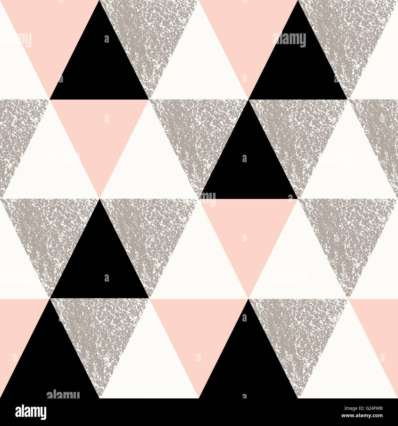 Repetir patrones geométricos abstractos sin costuras en negro ...