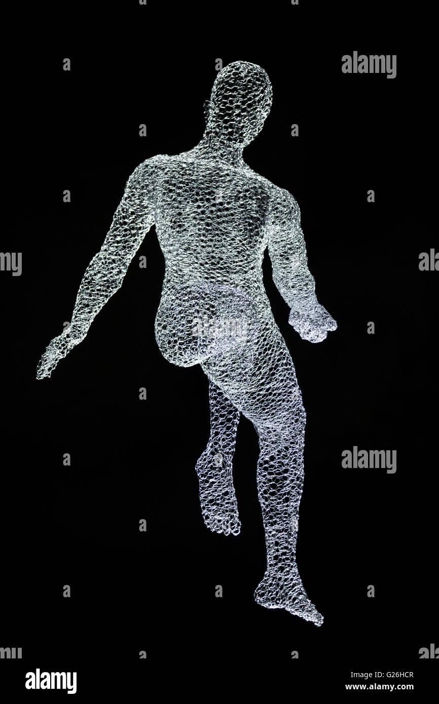 Lumiere Londres 2016 , iluminación Arte , Londres ,iluminación resplandor, iluminación, arte, alambre, Imagen De Stock