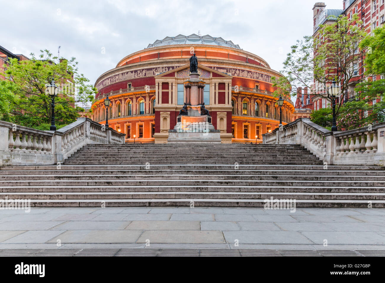 Royal Albert Hall, Londres, Inglaterra, Reino Unido. Imagen De Stock