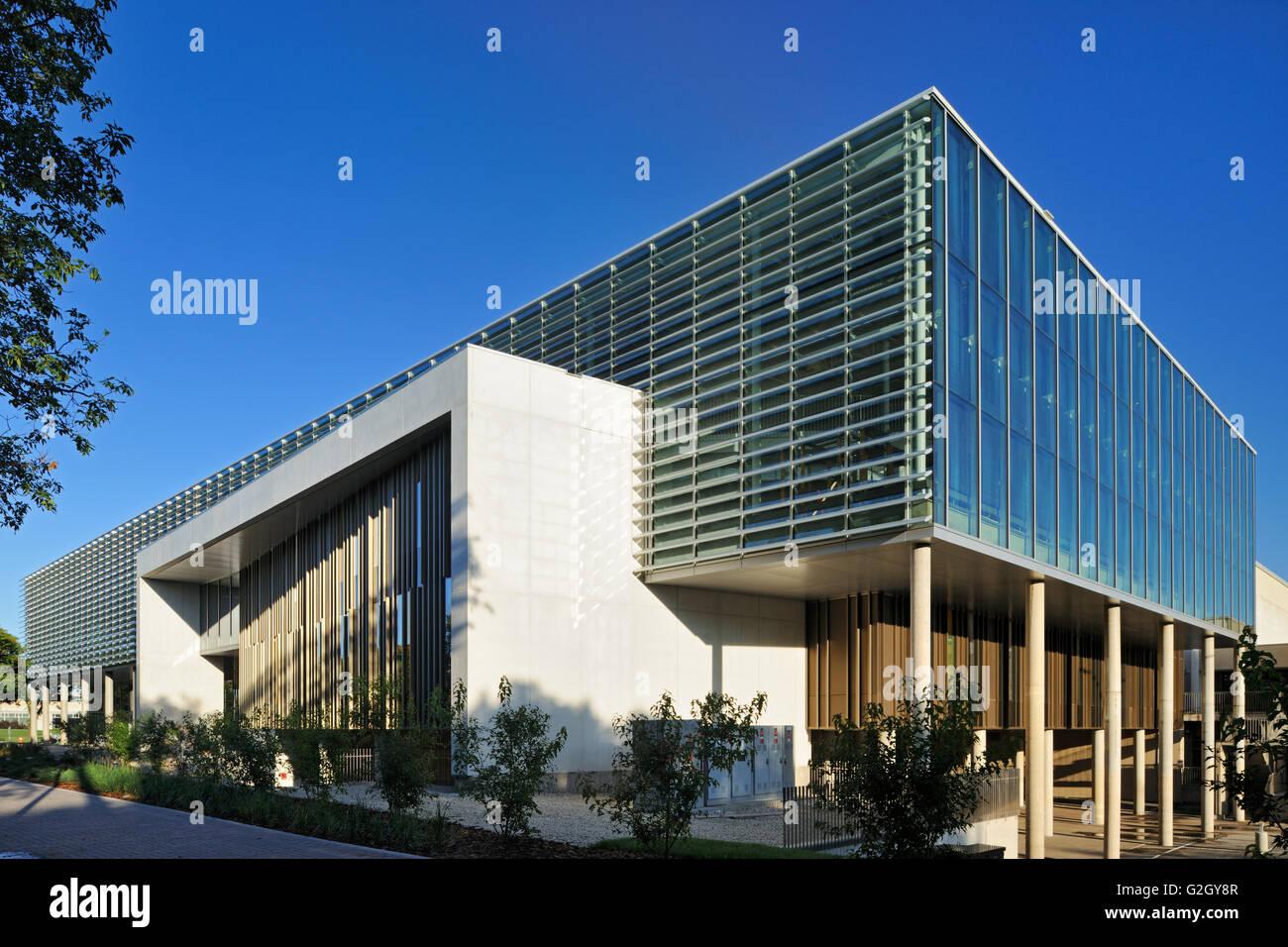 Centro de Vida Activa - Universidad de Manitoba, Winnipeg, Manitoba, Canadá Imagen De Stock