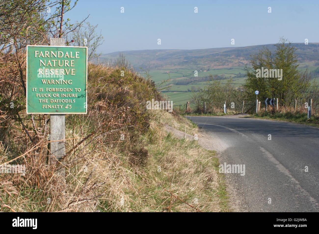 Farndlae, Yorkshire Foto de stock