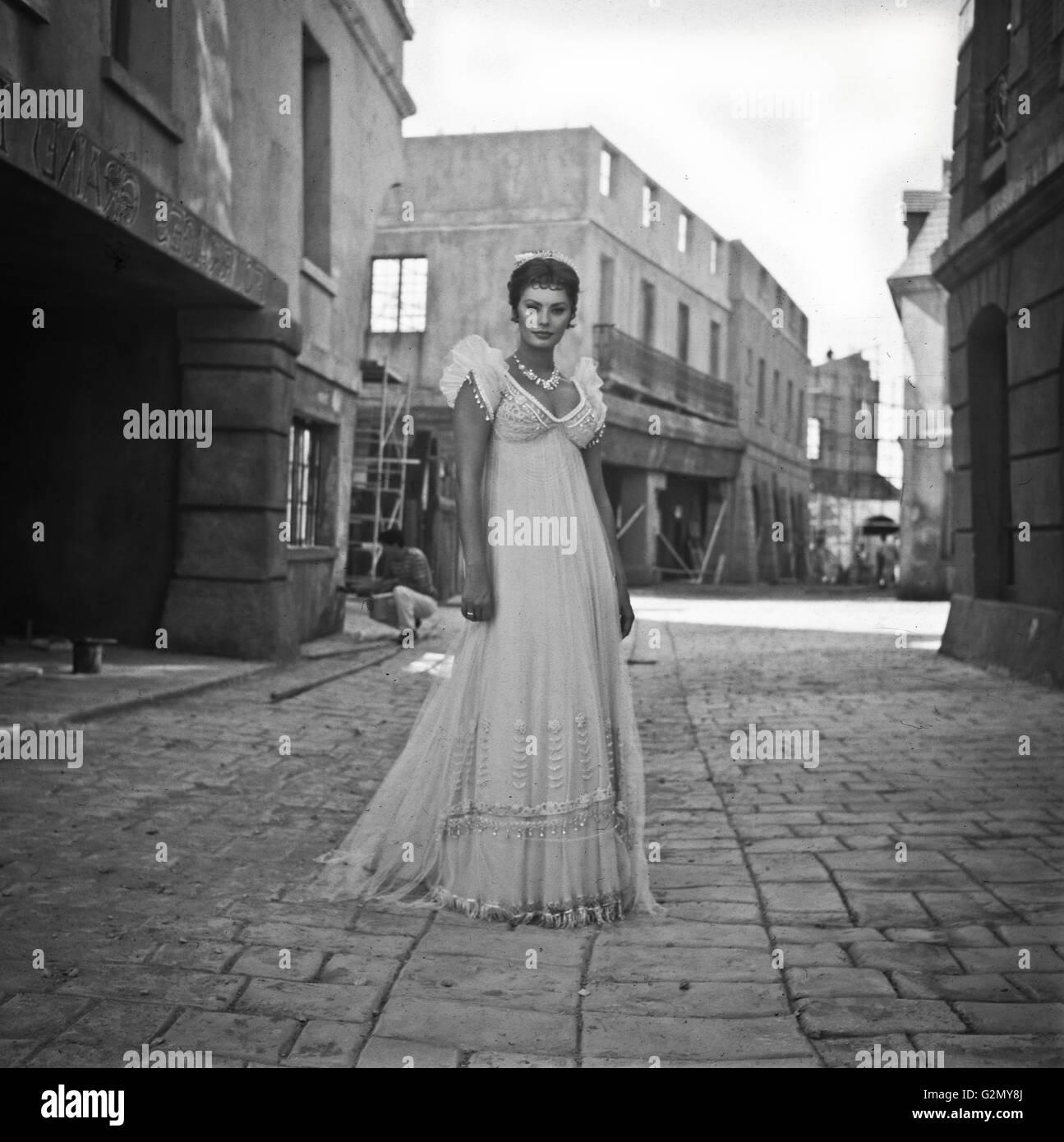 Sophia Loren 60s Imagen De Stock