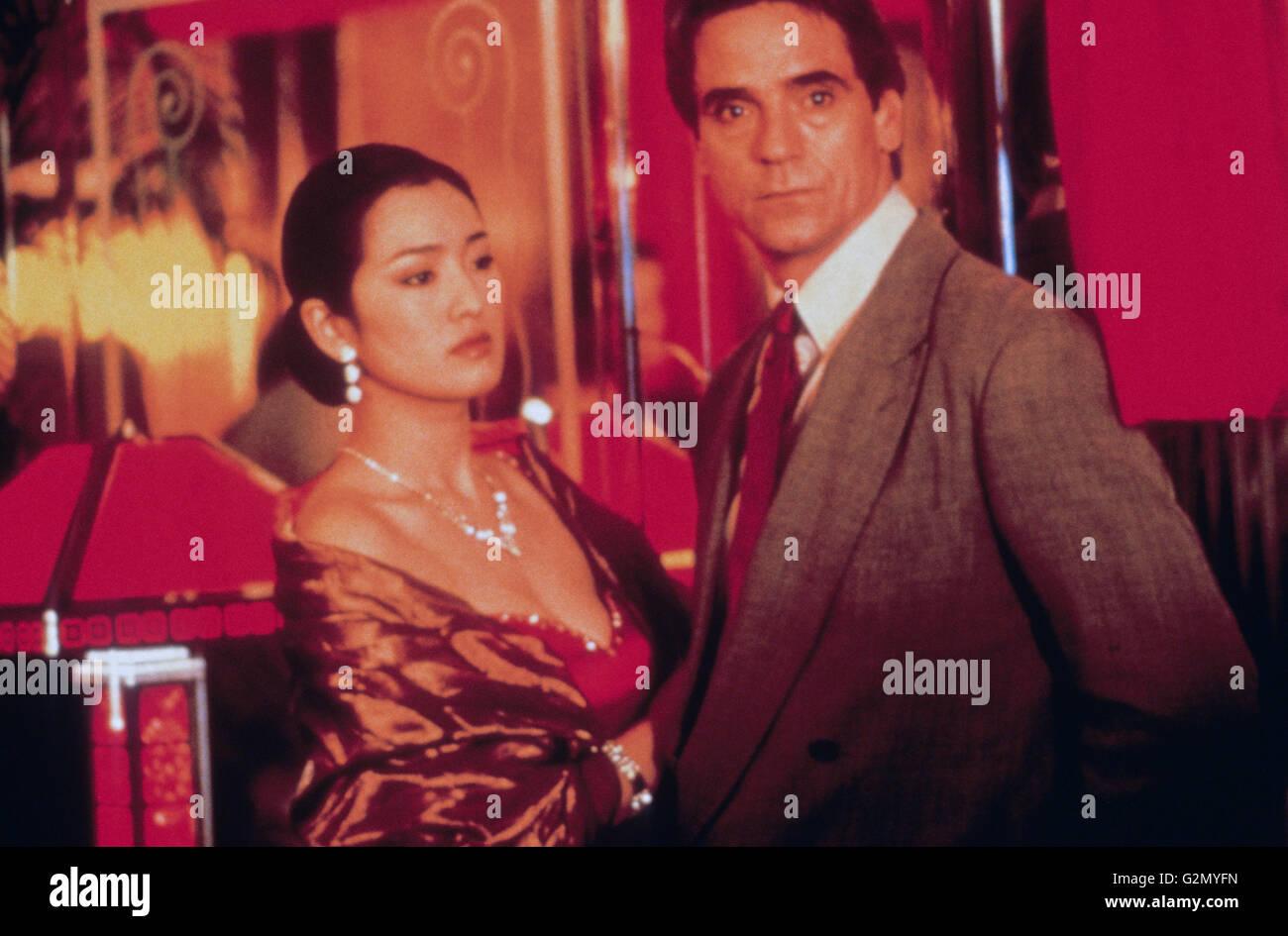 Caja china, Jeremy Irons, Gong Li,1997 Imagen De Stock