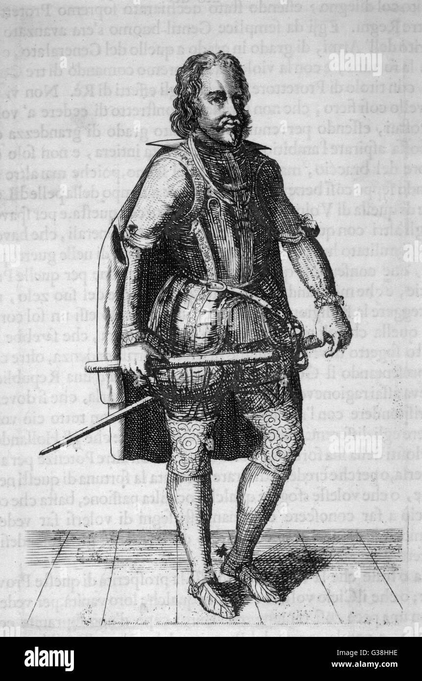 OLIVER CROMWELL soldado, estadista, Lord Protector Fecha: 1599 - 1658 Foto de stock