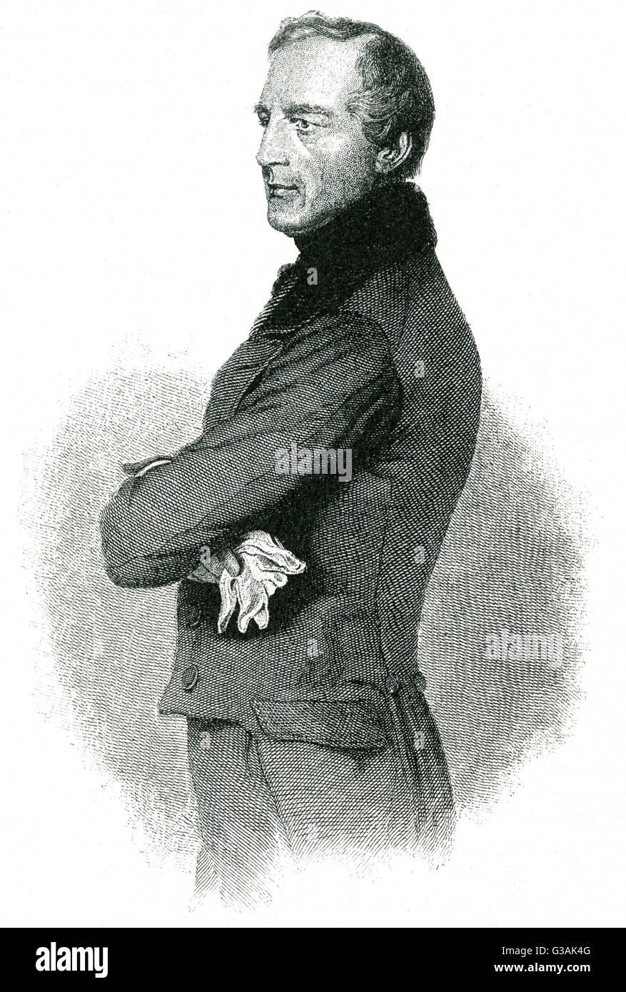 Karl Ludwig, Barón von Bruck (1798-1860), estadista austríaco. Fecha: circa 1850 Foto de stock