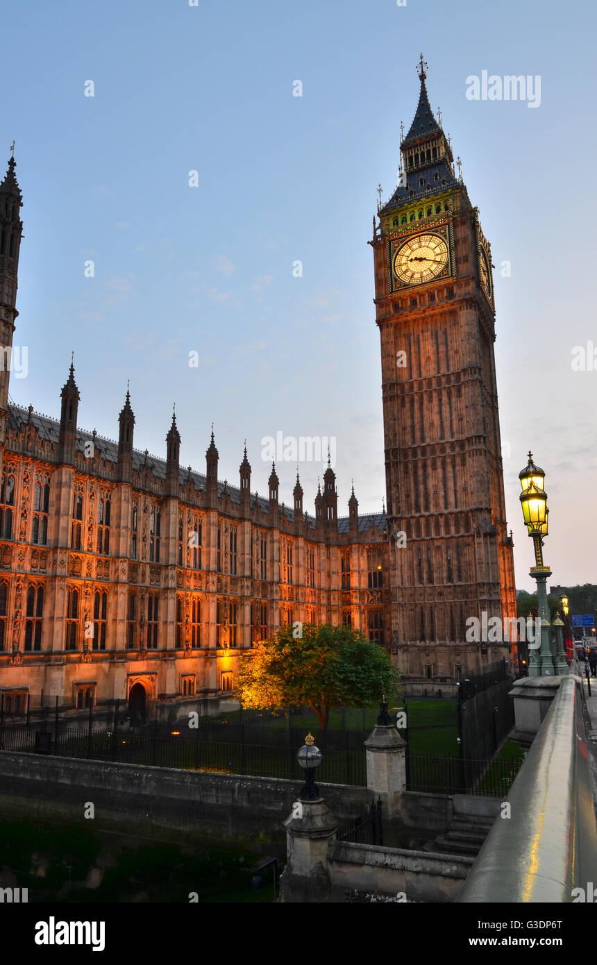 Big Ben, Londres, Inglaterra, Reino Unido. Imagen De Stock