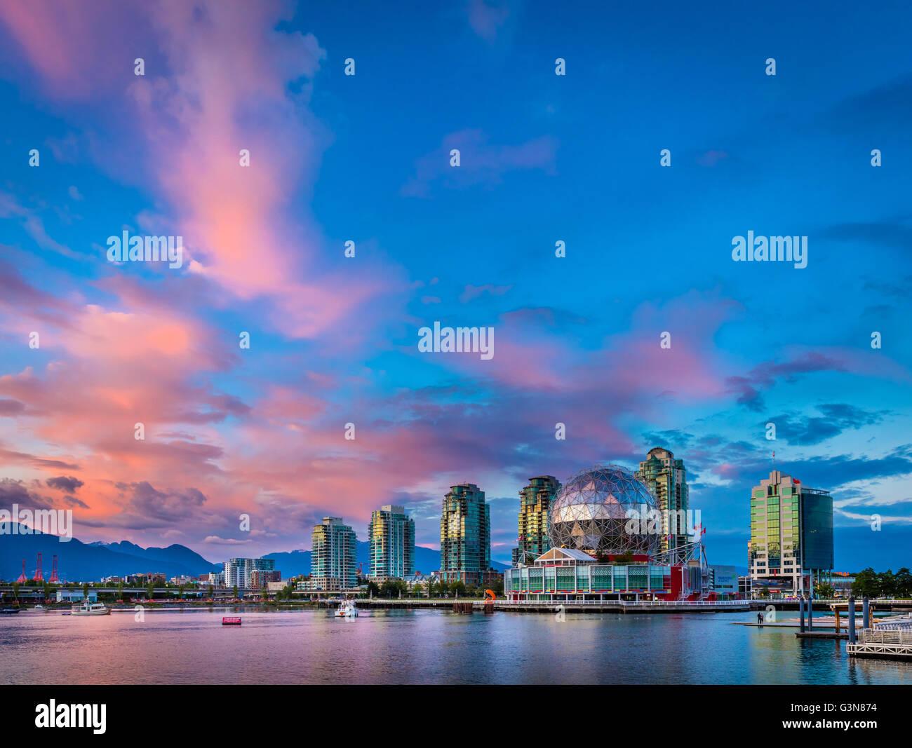 Science World en el mundo de la ciencia, Telus Vancouver Imagen De Stock
