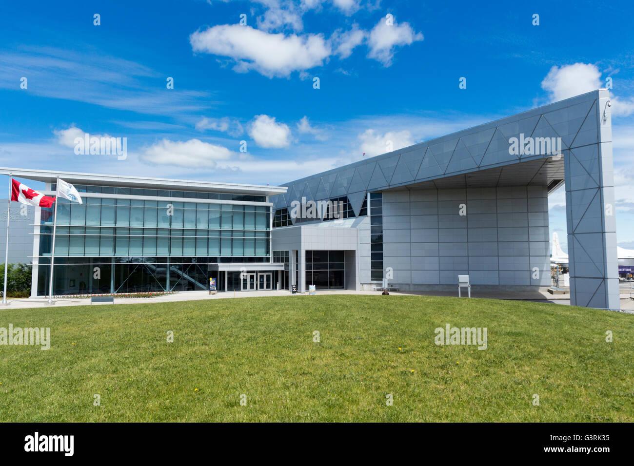 Canadian Aviation y el Museo del Espacio, en Ottawa, Ontario, Canadá Foto de stock