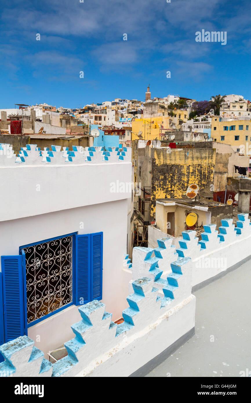 Medina, la antigua ciudad de Tánger. Marruecos Africa Foto de stock