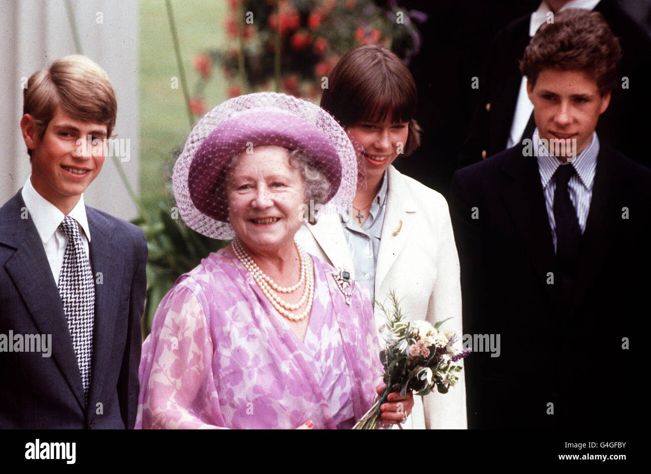 Lady Sarah Chatto Imágenes De Stock & Lady Sarah Chatto Fotos De ...