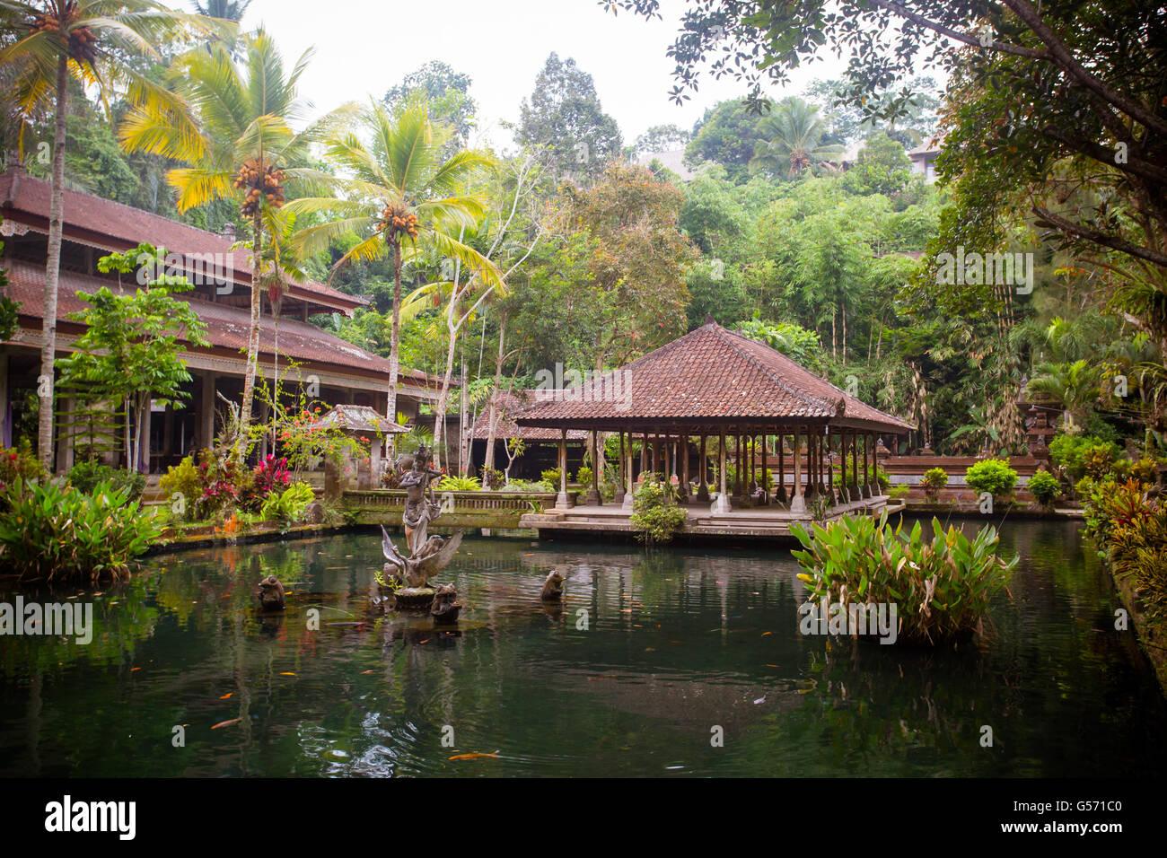 El famoso templo de Gunung Kawi Sebatu, Tegallalang, Bali, Indonesia Imagen De Stock