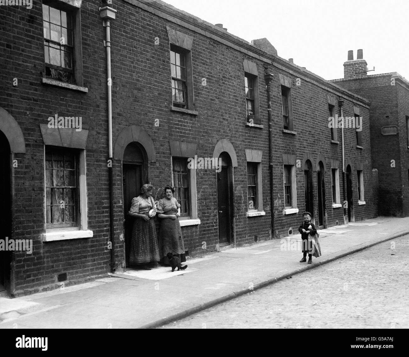 Caja Británico Terrazas Londres 1911 Foto Imagen De