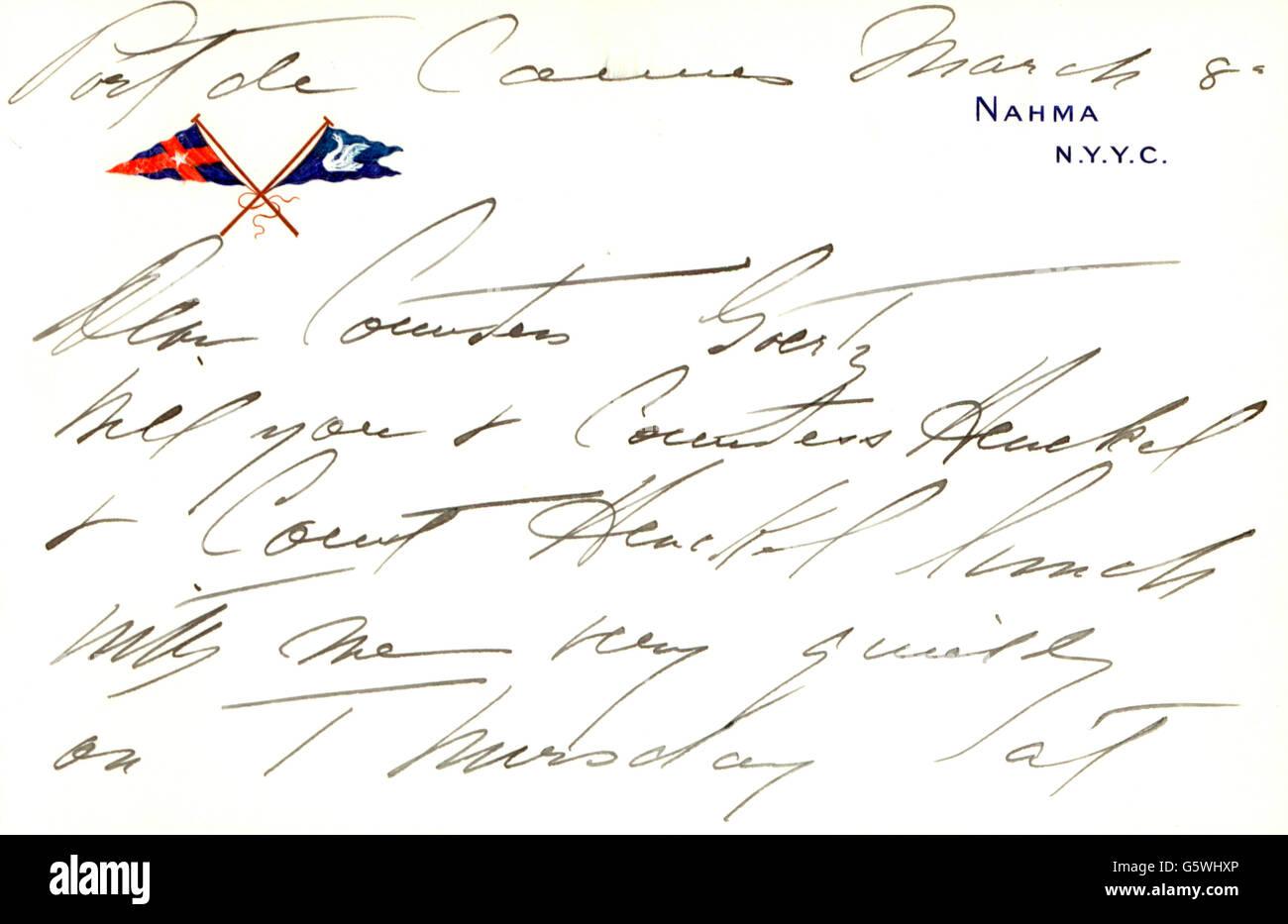 Robert Goelet 29 9 1841 27 4 1899 Empresario