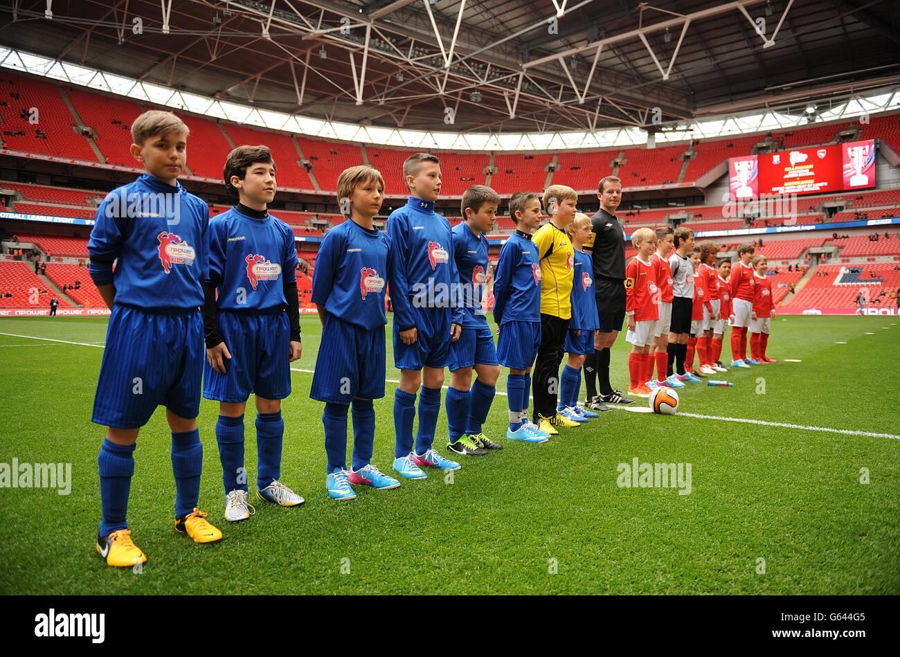Fútbol - Liga de Fútbol npower dos - Play off - Final - Bradford City v Northampton Town - Wembley Stadium Foto de stock