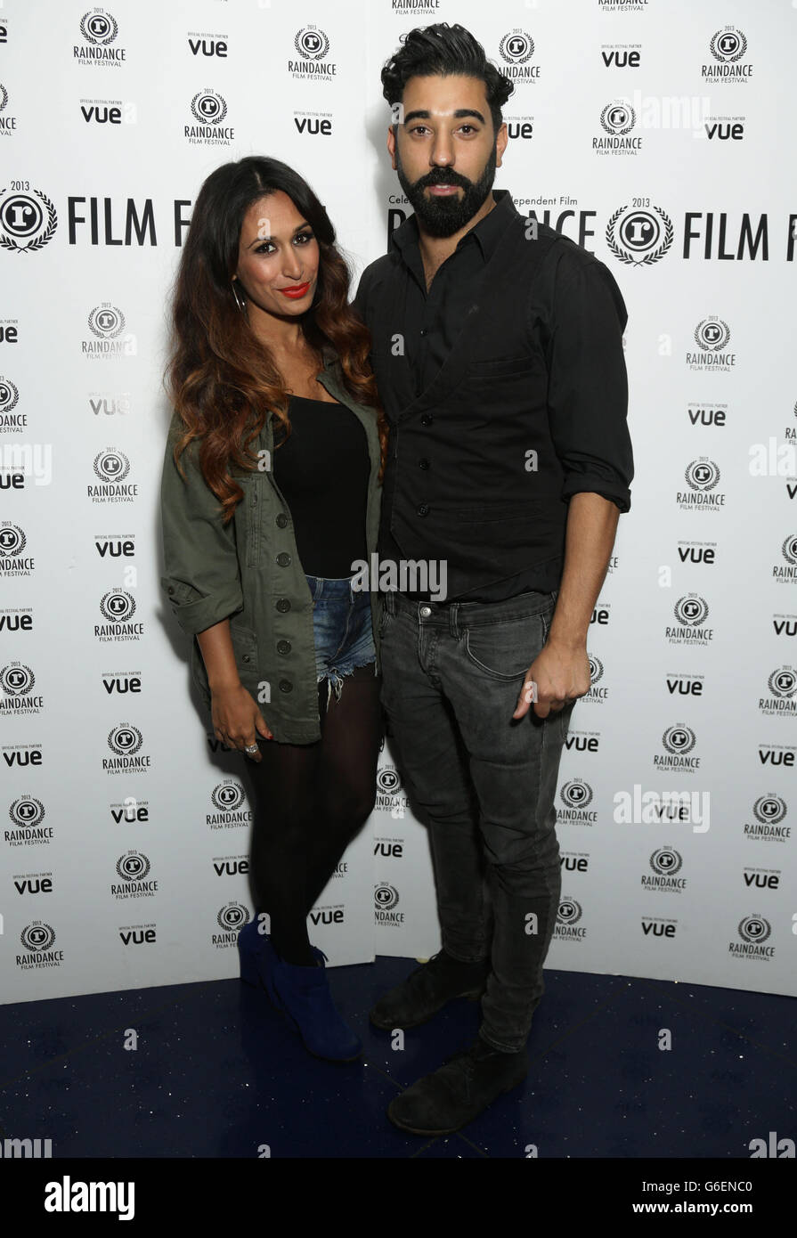 El Raindance Film Festival - Londres Foto de stock