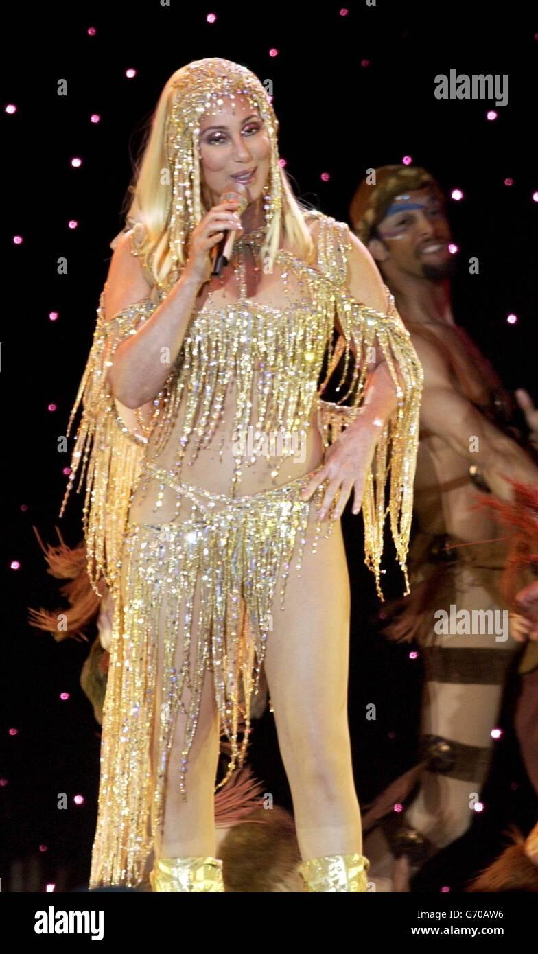 Gira de despedida Cher Imagen De Stock