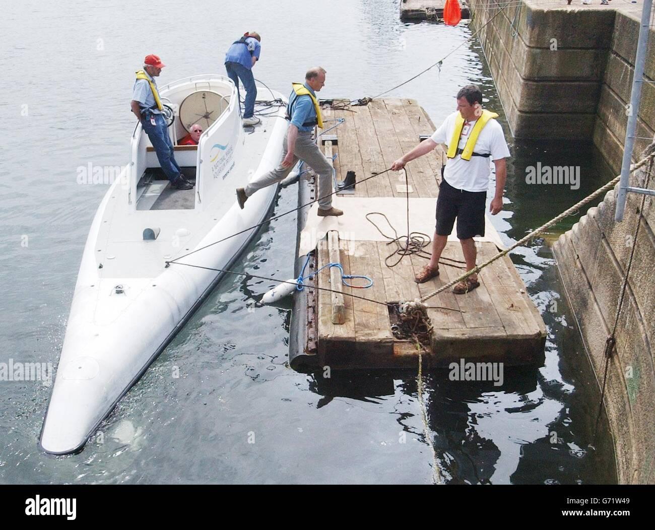 Alicia - 6 Hombre submarino Imagen De Stock