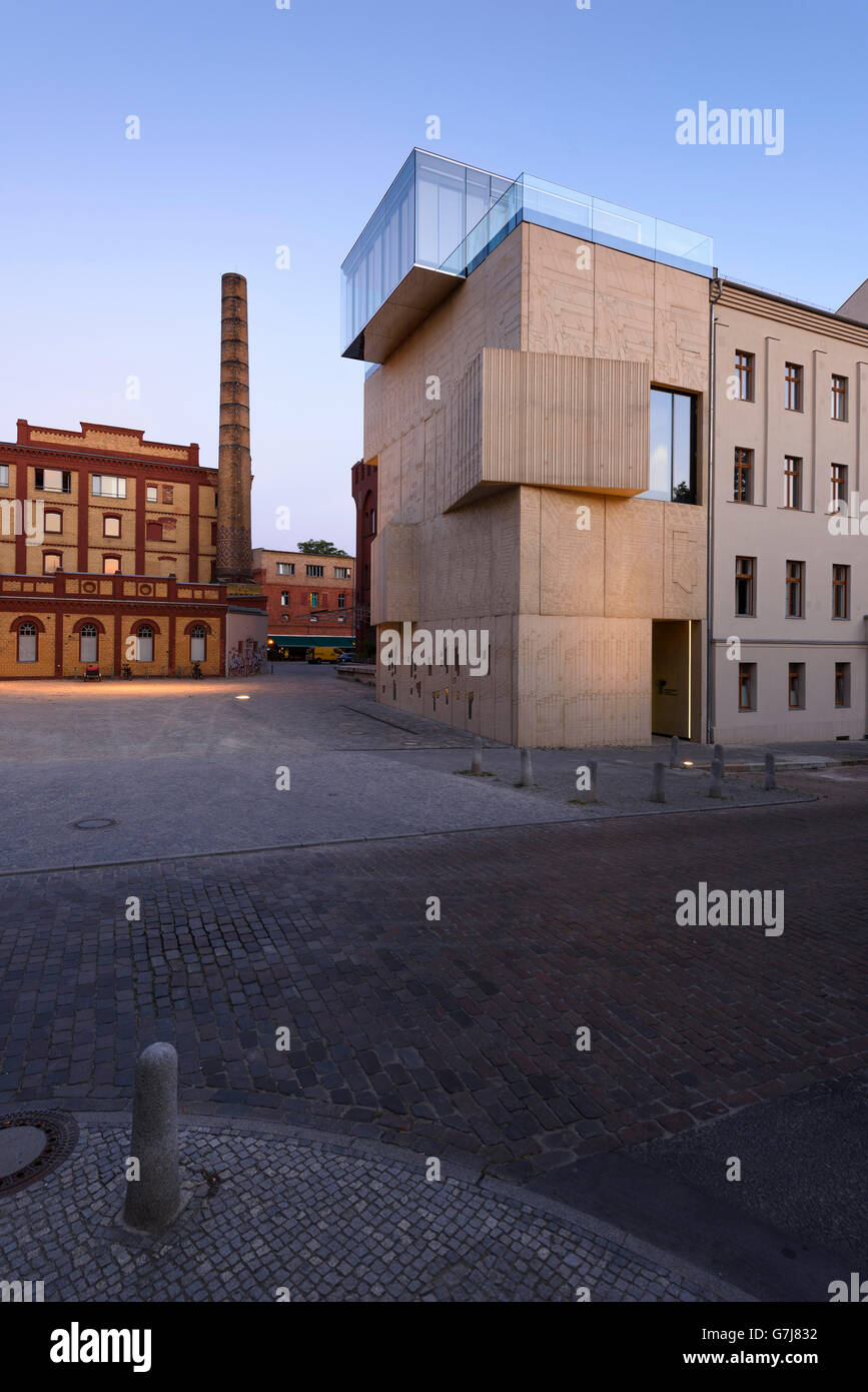 Berlín. Alemania. La Fundación Tchoban Museo de dibujo arquitectónico. Imagen De Stock