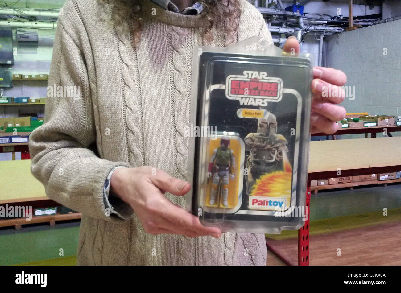 Subasta de Star Wars Foto de stock