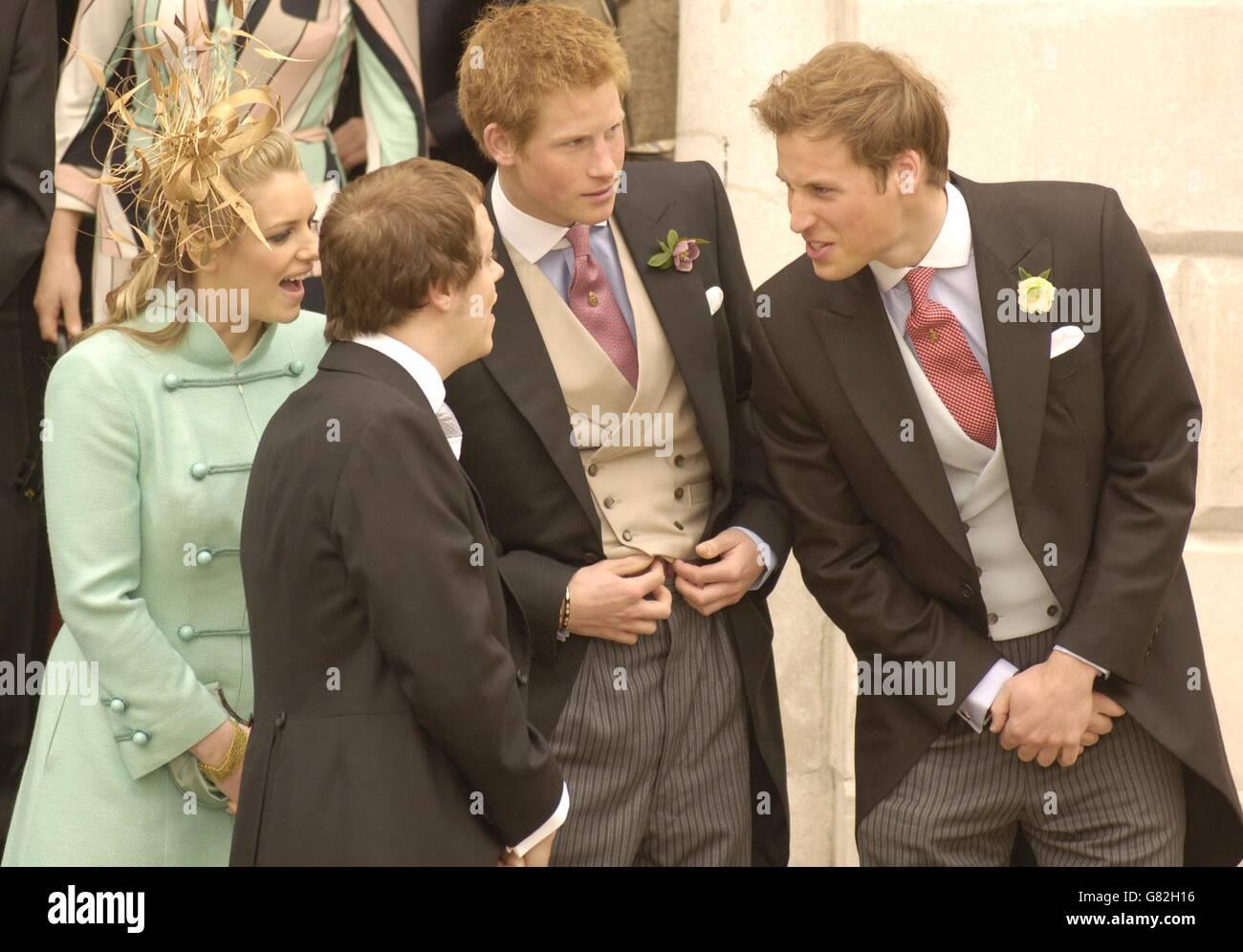 Boda Real El Matrimonio Del Principe Carlos Y Camila Parker Bowles Ceremonia Civil Guildhall De Windsor Fotografia De Stock Alamy