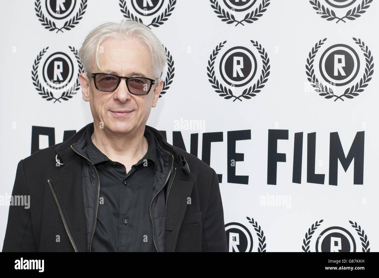 El Raindance Film Festival lanzamiento Foto de stock