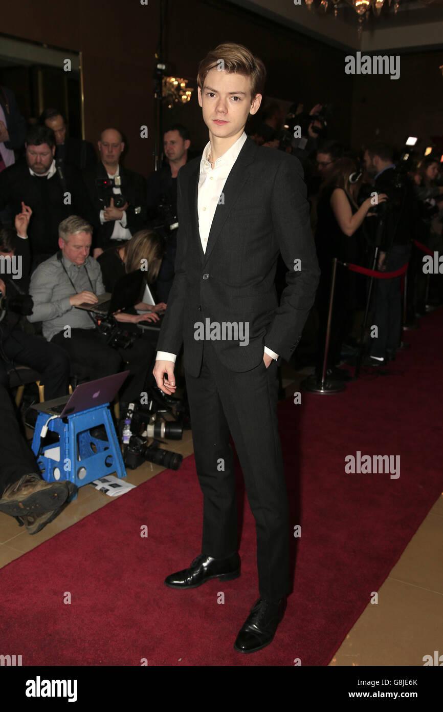 Círculo de Críticos de Cine de Londres 36 Premios - Londres Foto de stock