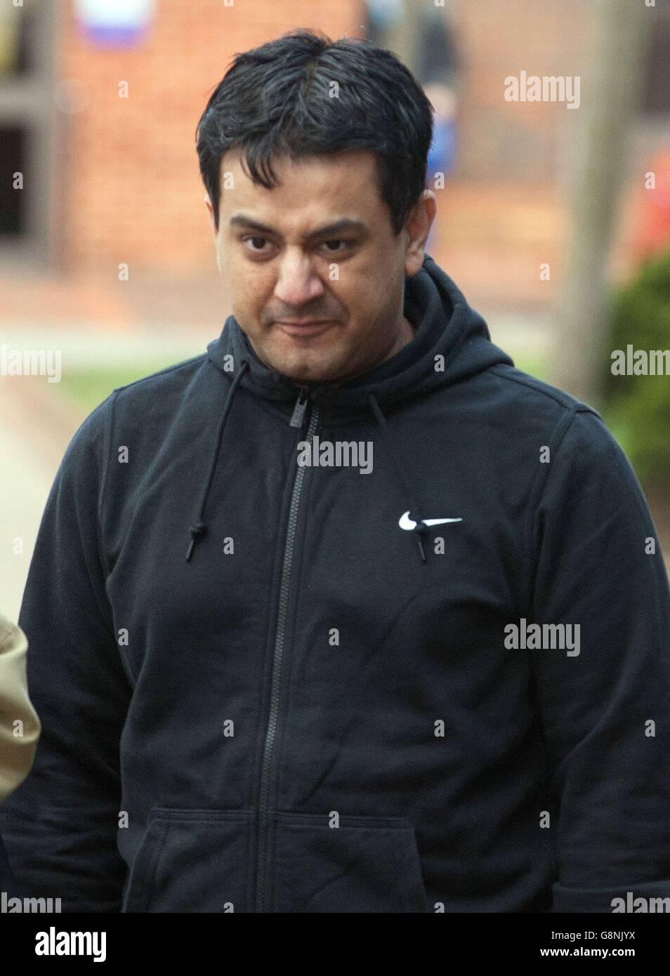 Nabeel Waseem caso judicial Foto de stock