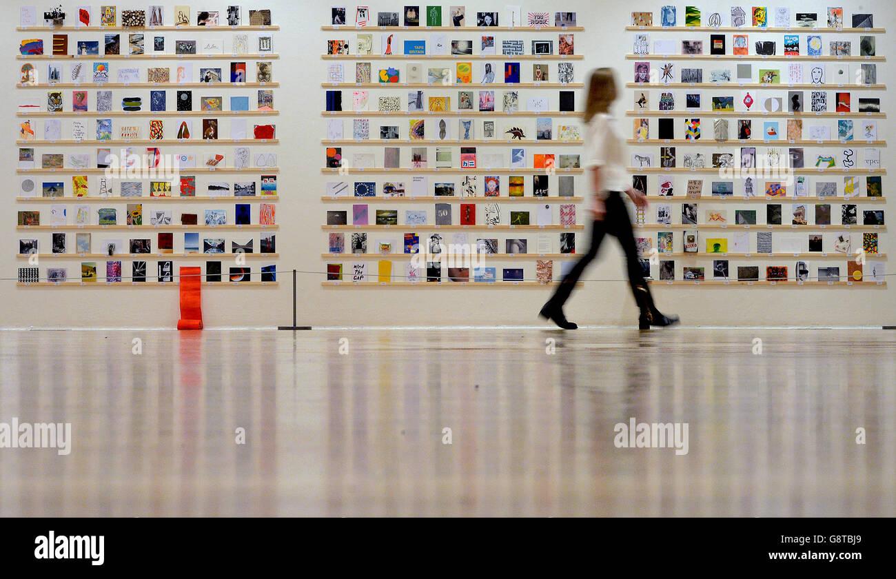 Exposición postal secreta RCA Foto de stock