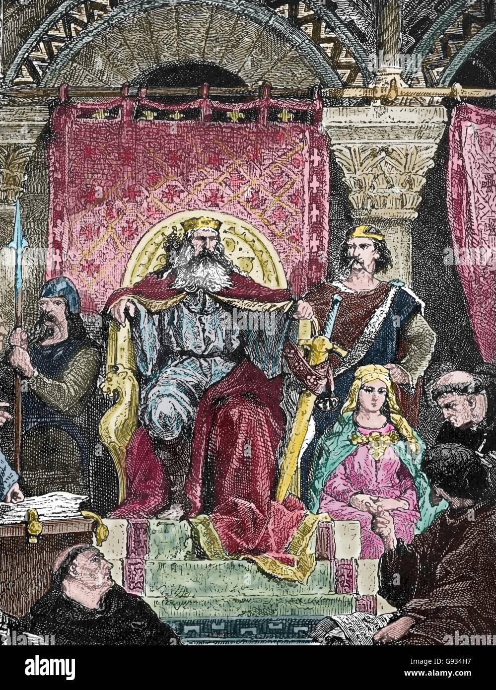Carlomagno 748 814 El Emperador Del Sacro Imperio Romano