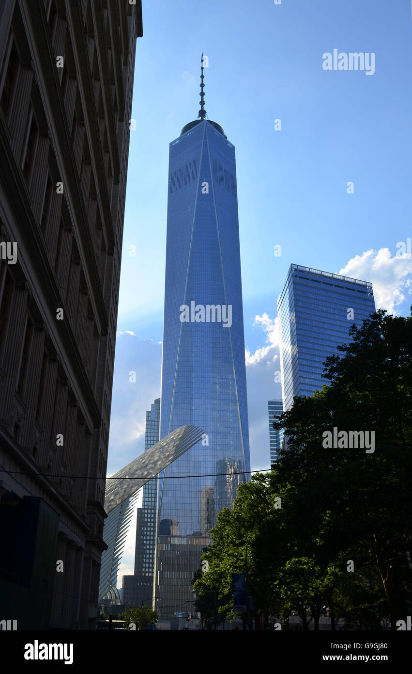 El One World Trade Center Imagen De Stock