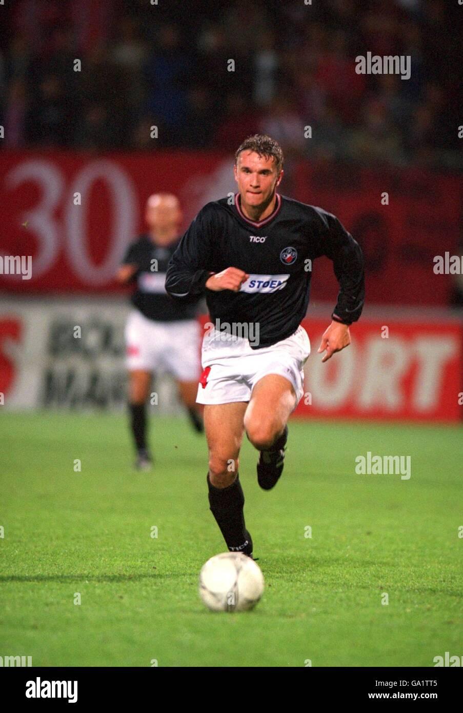 Fútbol - Copa de la UEFA - Primera Ronda - Segunda Parte - FC Twente v Polonia Varsovia Imagen De Stock