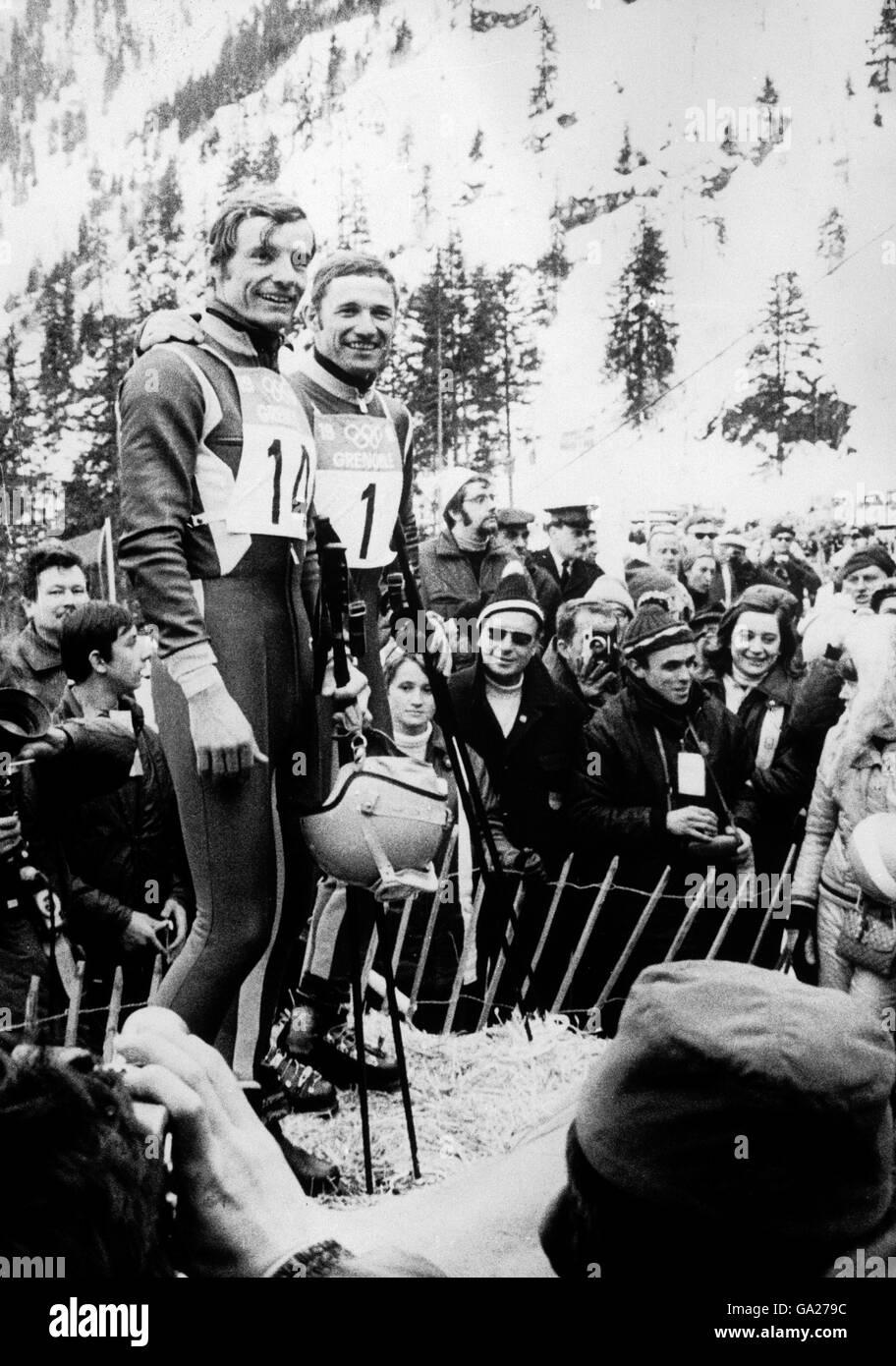 Esqui Grenoble Juegos Olimpicos De Invierno De 1968 Foto Imagen