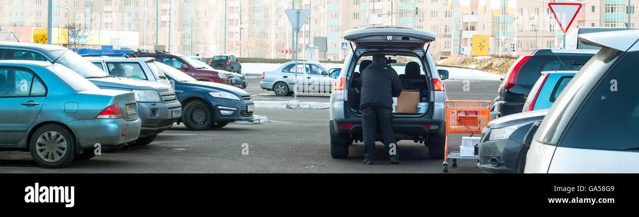 automóviles Imagen De Stock
