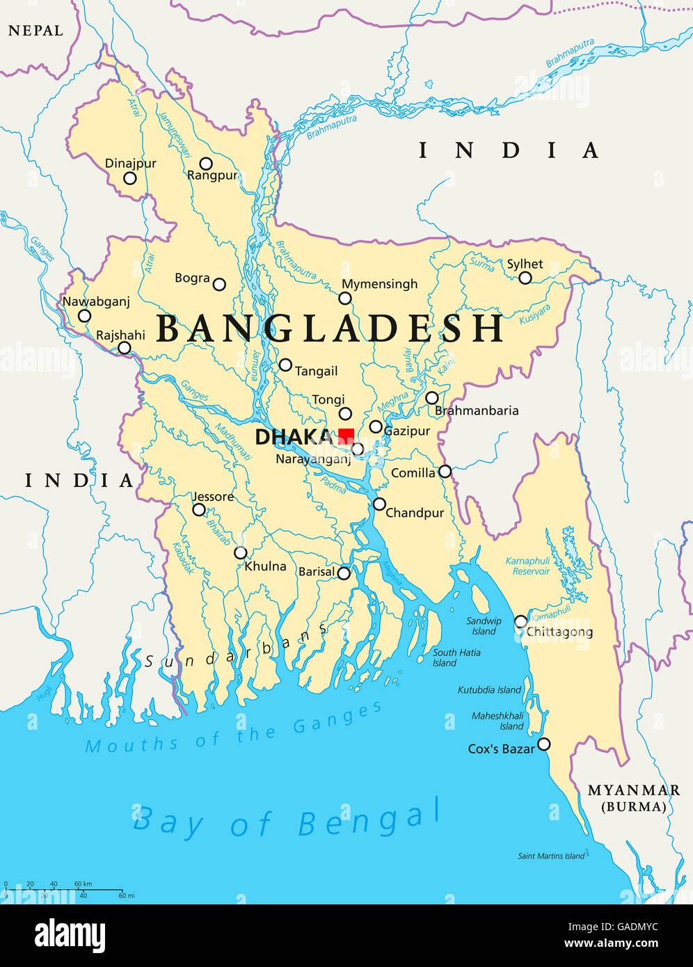 Picture of: Bangladesh Map Fotos E Imagenes De Stock Alamy