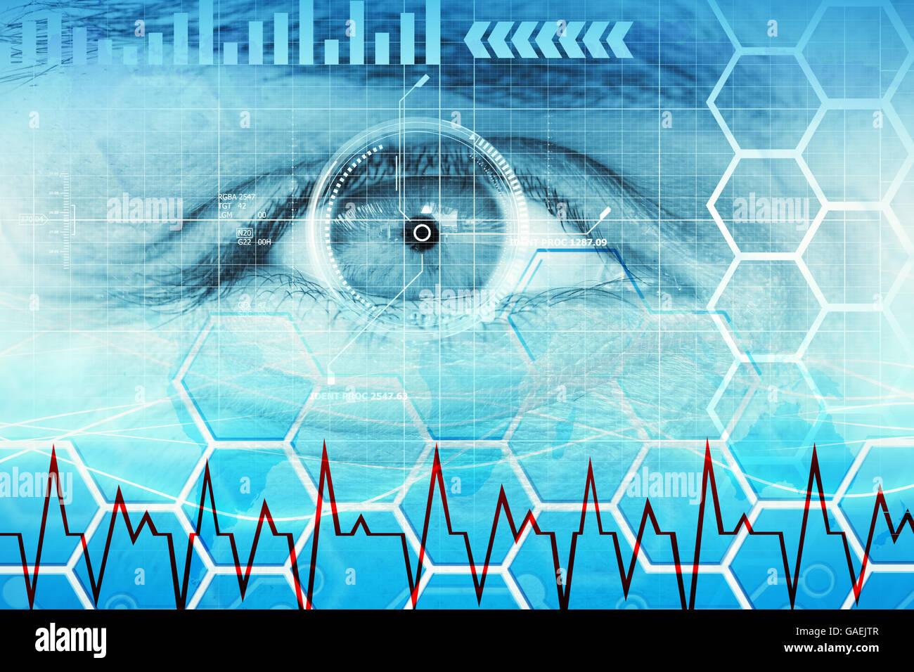 La salud y la biotecnología Imagen De Stock