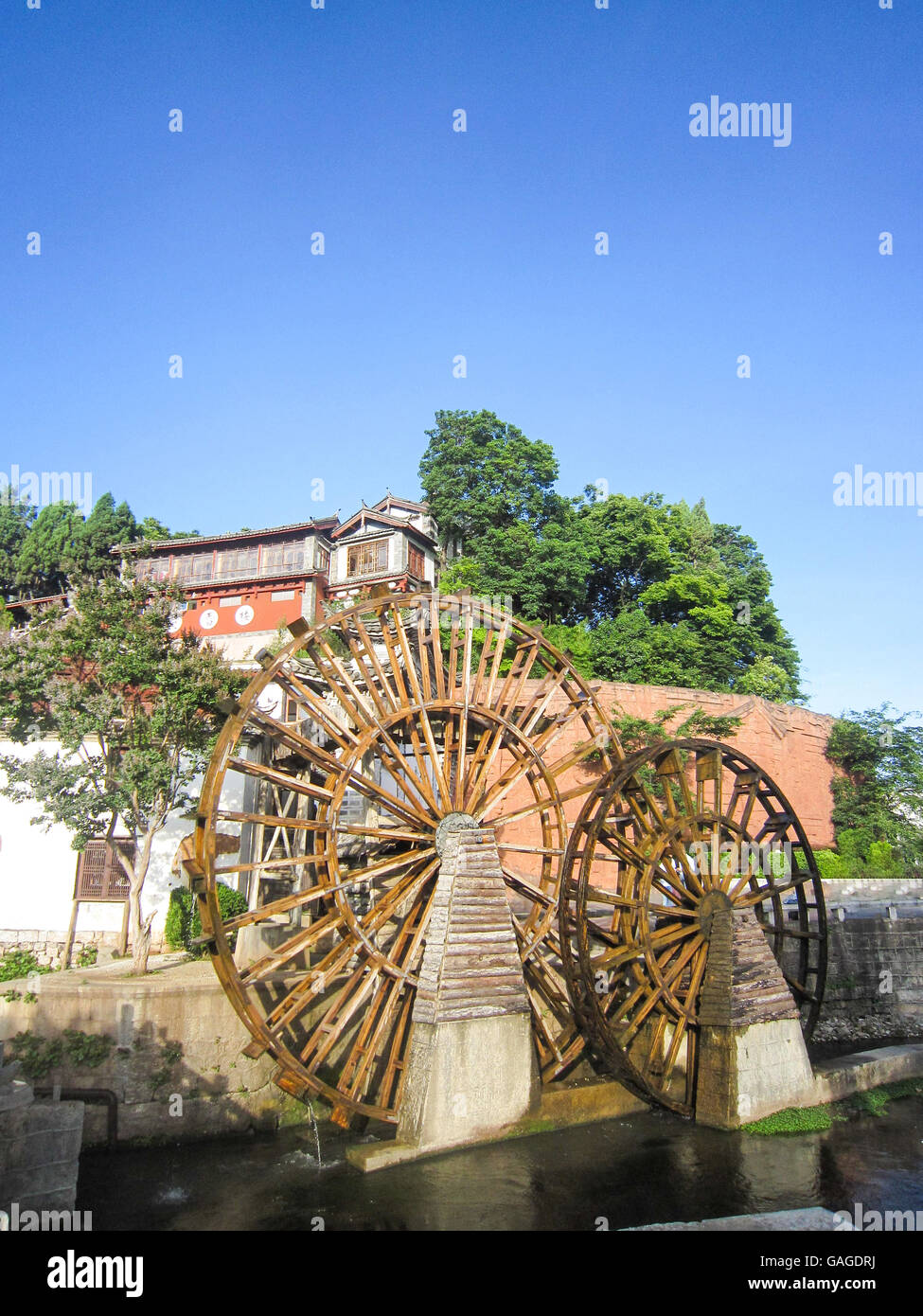 Ciudad vieja de Lijiang Foto de stock