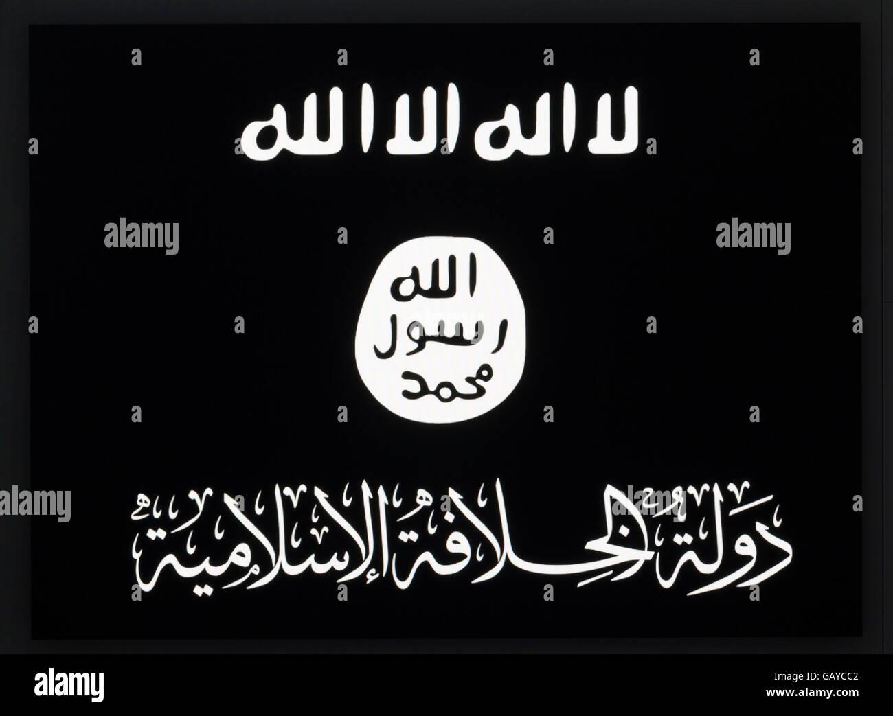 Isis propaganda online Imagen De Stock