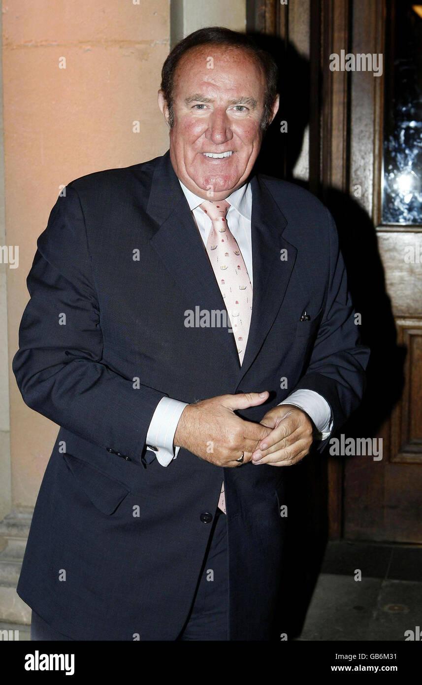 El Evening Standard 1000 personas más influyentes de 2008 Foto de stock