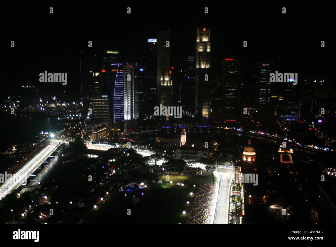 Circuito F1 Singapur : Automovilismo fórmula singtel gran premio de singapur