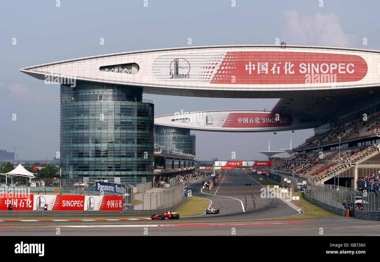 Las carreras de Fórmula Uno - Gran Premio de China - Práctica - Circuito  Internacional de 5daefbeb687d6