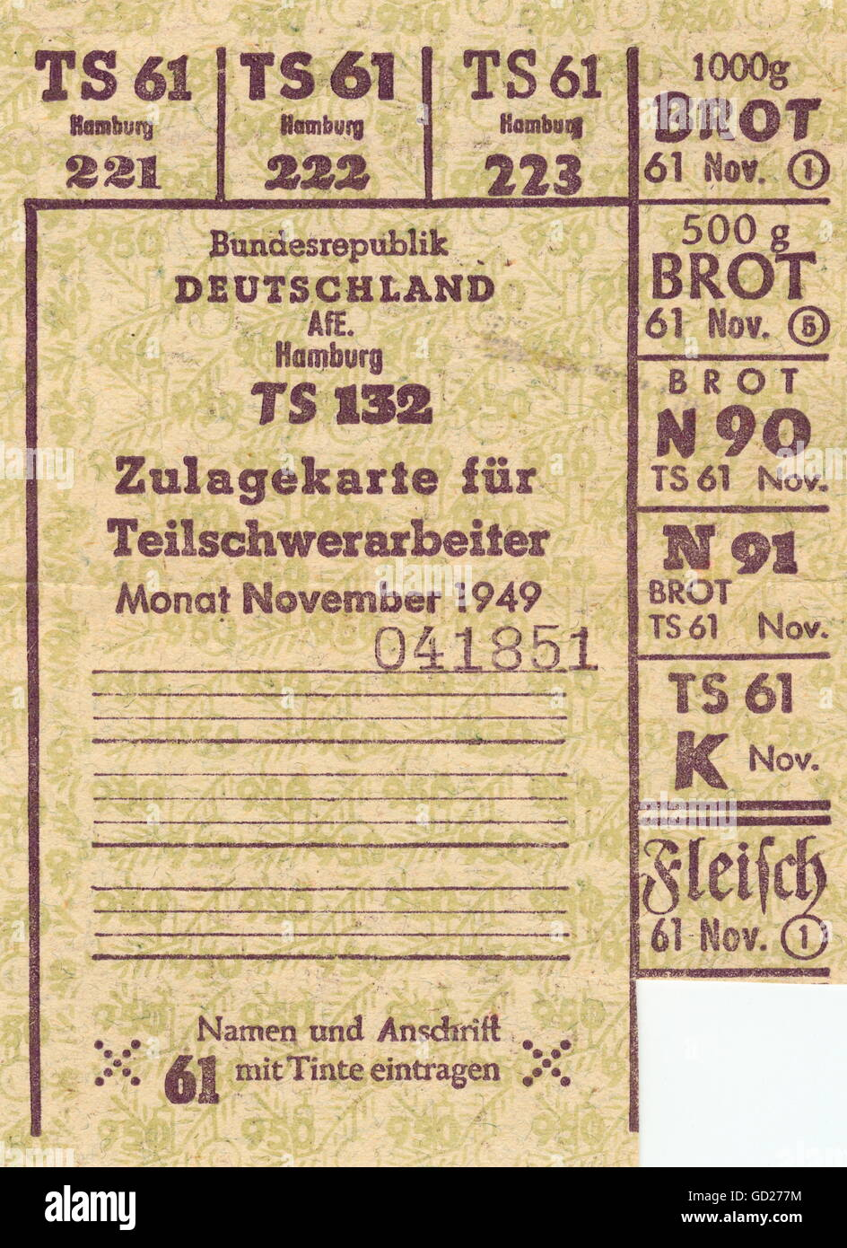 20th November 1949 1940s Imágenes De Stock   20th November 1949 ... 9204996506a3
