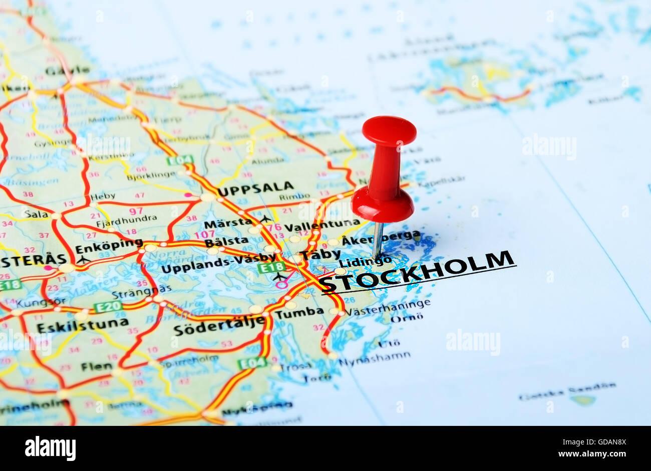 Mapa De Estocolmo Plano Y Callejero De Estocolmo 101viajes