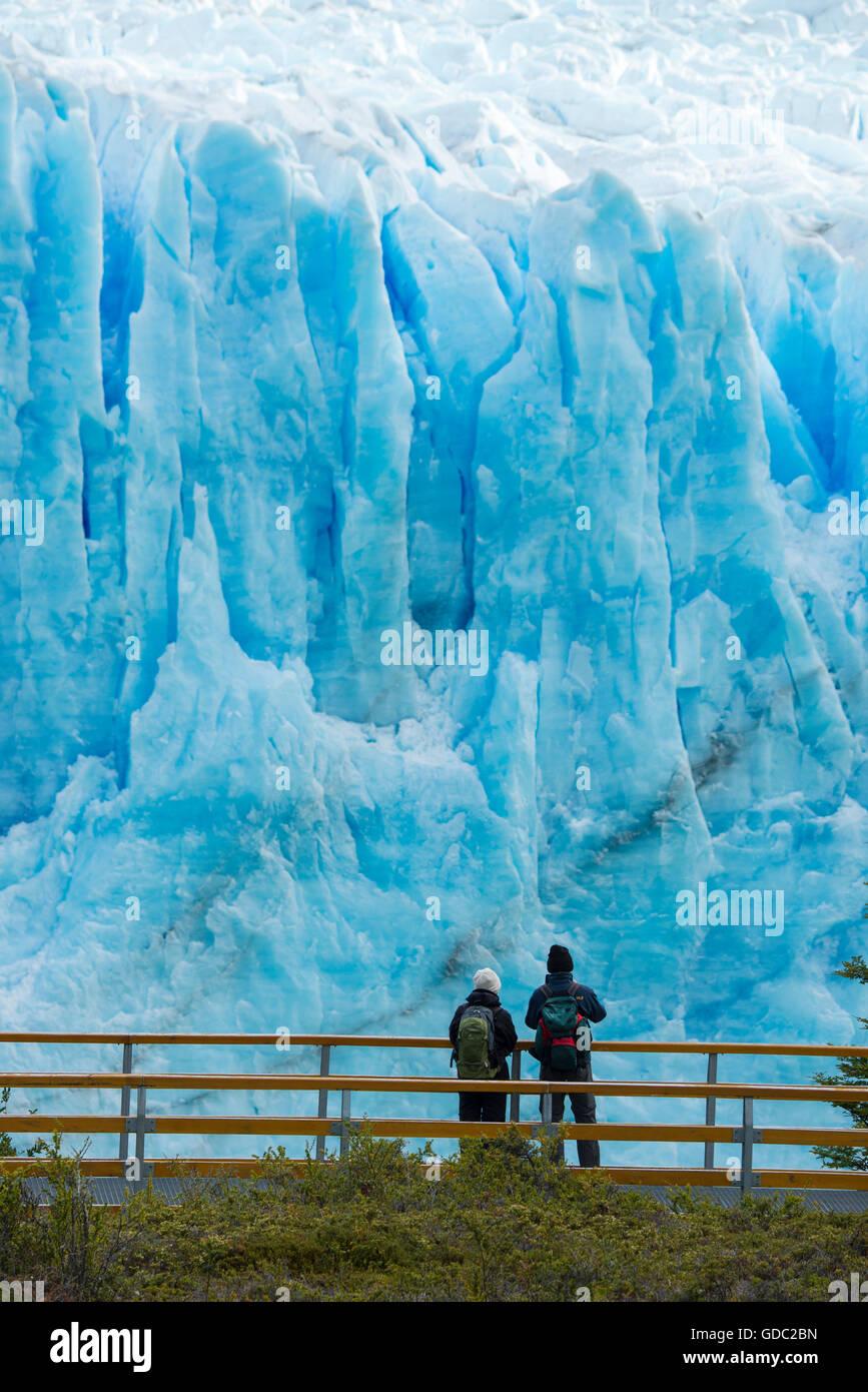 América del Sur,Patagonia,Argentina,Santa Cruz,Calafate,,Parque Nacional Los Glaciares, Patrimonio Mundial Imagen De Stock