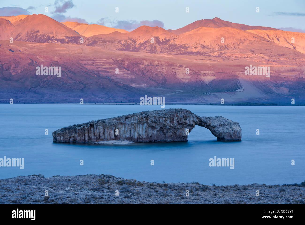 América del Sur,Argentina,Santa Cruz, Patagonia,Lago Posadas Imagen De Stock