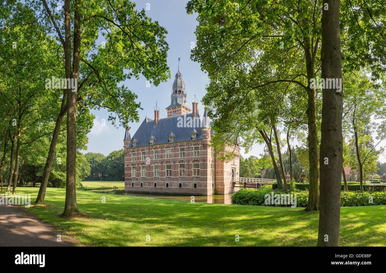 Wijchen,Gelderland,Museo,jardín Foto de stock
