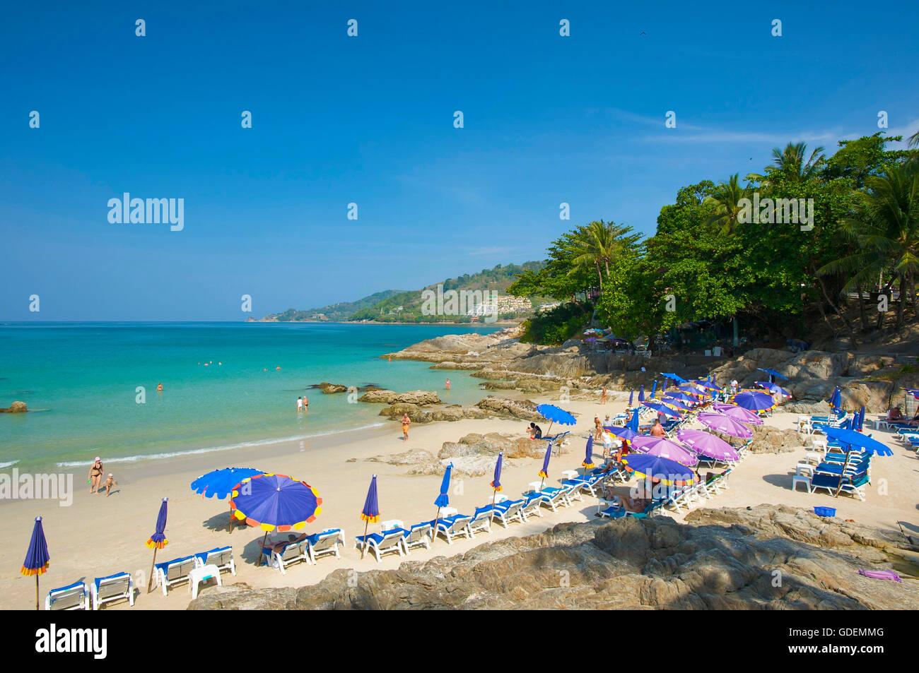 Kalim Beach, Isla de Phuket, Tailandia Foto de stock