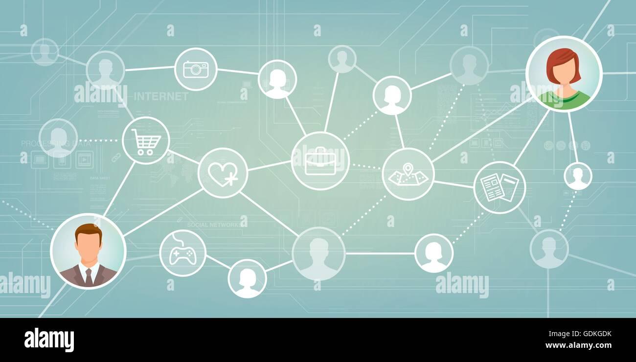 conocer gente a traves de las redes sociales