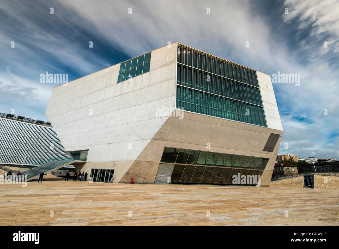 La Casa da Musica Concert Hall, Porto, Portugal Imagen De Stock