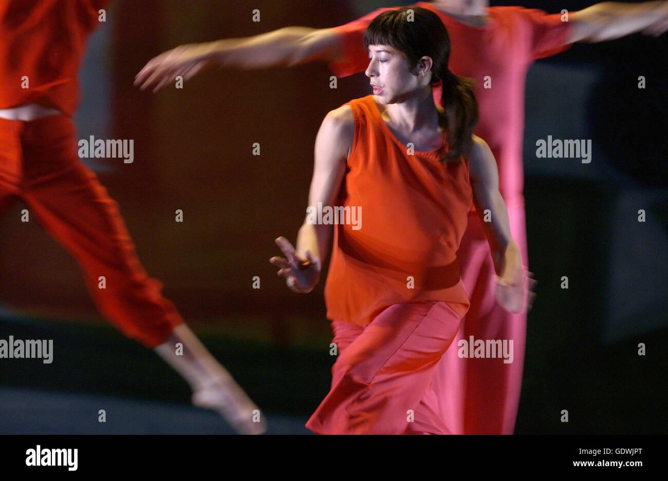 """Present Tense"", Trisha Brown Dance Company Imagen De Stock"