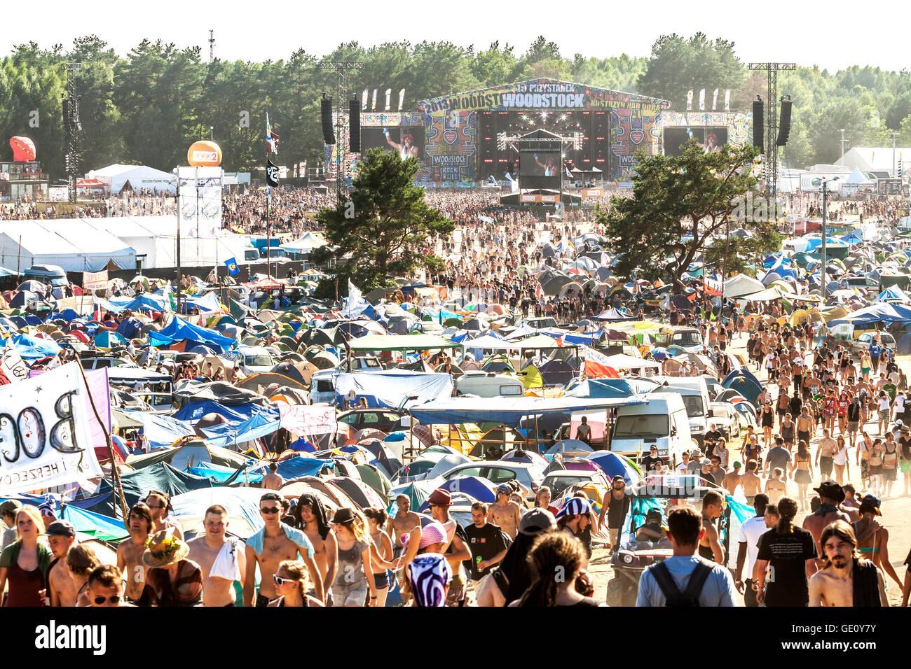 19 Przystanek Woodstock (Festival de Woodstock), ticket aéreo abierto de verano más grande festival de Imagen De Stock